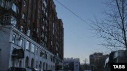 Вид одной из улиц Челябинска