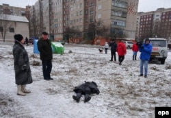 Погибший при обстреле Краматорска мирный житель