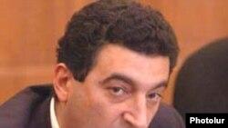 Armenia -- Former Environment Minister Vartan Ayvazian, undated.