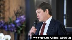 Кыргызстандын премьер-министри Сапар Исаков Давостогу форумда.
