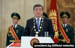 Kyrgyzstan' new president, Sooronbai Jeenbekov