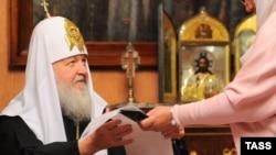 Мәскеу және бүкіл бүкілресейлік православие шіркеуінің патриархы Кирилл.