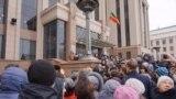 Kazan, protestçiler