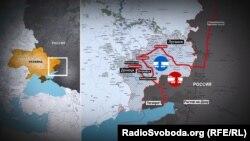 Вугілля і метал з окупованої частини Донбасу вже давно, хоч і нелегально, залізницею вивозять до Росії