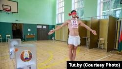 Aleksey Kuzmiç seçki məntəqəsində
