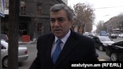 Заместитель директора СНБ Армении Арзуман Арутюнян (архив)
