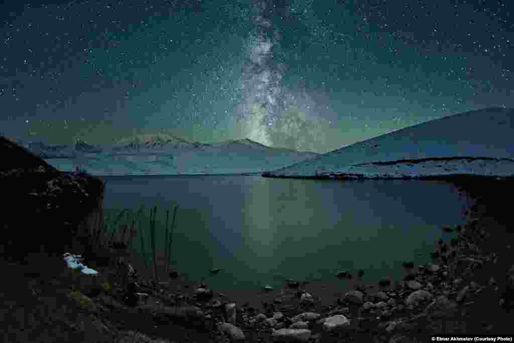 Photographer Elmar Akhmetov of Kazakhstan was selected in the Low Light category for this shot of the Milky Way.