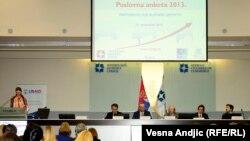 Predstavljanje izveštaja USAID-a u Beogradu, 13. novembar 2013.