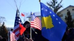 Zastave SAD u ulici nazvanoj po Bidenovom sinu na Kosovu