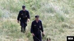 Macedonia -- Border guards, 23Dec2010