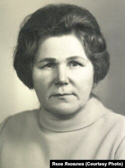Мария Шабалина 1980 гг.