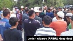 Кара-Бактын тургундары. 1-май, 2015-жыл