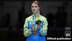 Українська бронзова призерка Олімпійських ігор у Ріо-де-Жанейро Ольга Харлан, 8 серпня 2016 року