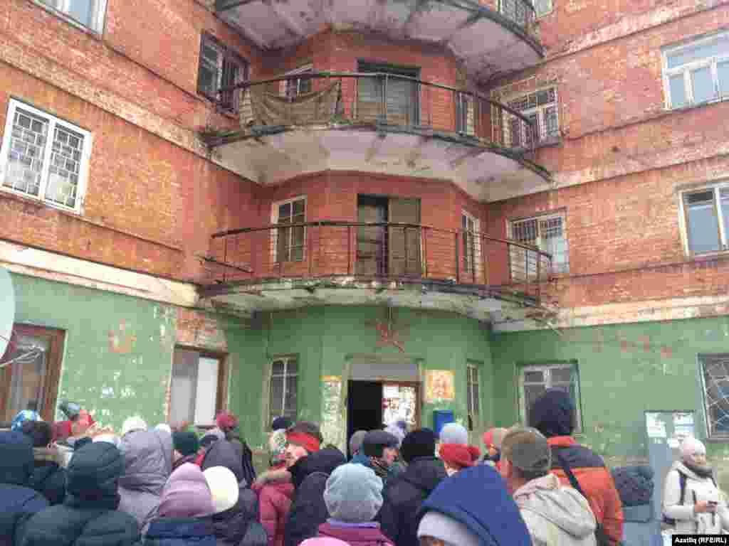"""Бу 1930 елларда төзелгән """"йолдызлы"""" йорт - Казандагы конструктивизм үрнәкләренең берсе булып тора."""