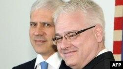 Boris Tadić i Ivo Josipović