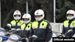 Сотрудники Управления патрульной милиции.
