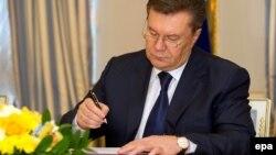 Екс-президент Віктор Янукович, архівне фото