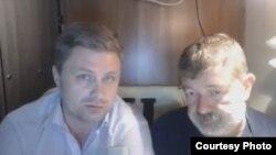 Виталий Еркаев (слева) и Вячеслав Мальцев