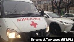 Машина скорой помощи в Алматы.