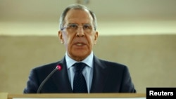 Russian Foreign Minister, Sergei Lavrov.