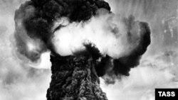 Семейдегі алғашқы атом қаруы сынағы. 29 тамыз 1949 жыл.