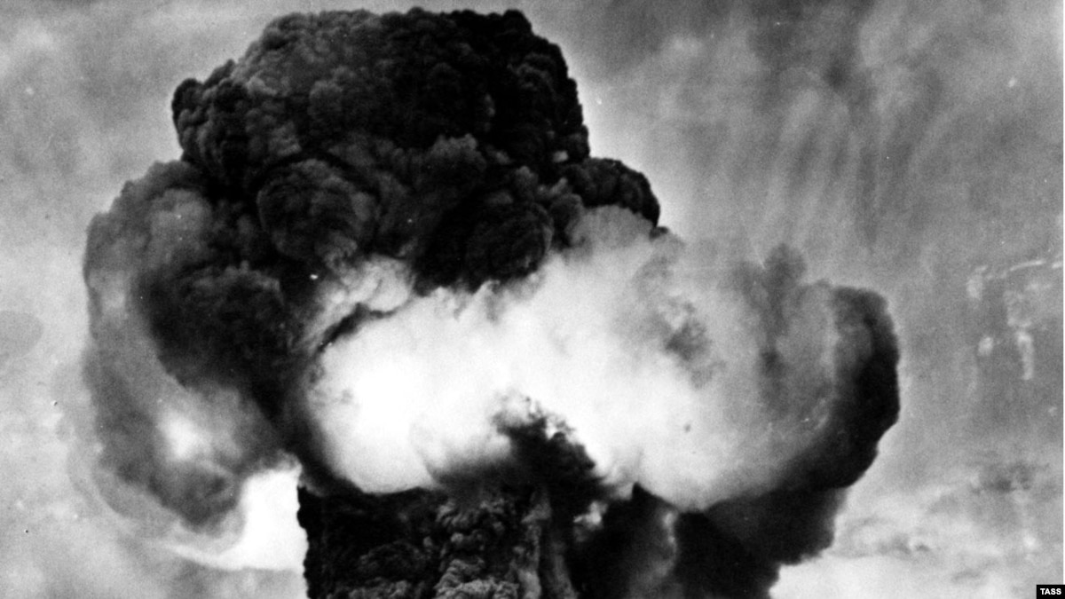 The first explosions in the Soviet capital