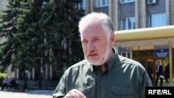 Голова Донецької обласної військово-цивільної адміністрації Павло Жебрівський
