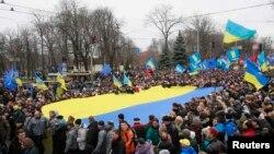 Евромайдан в Киеве, 1 декабря 2013 года