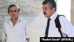 Урунбой Усмонов ва вакили дифоъ Абдуқаюм Юсуфӣ