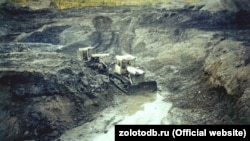 Золотодобыча в Магаданской области, архивное фото
