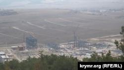 Строительство ТЭС в Севастополе, архивное фото