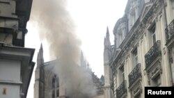 Пожежа в місті Нант, Франція, 18 липня 2020 року