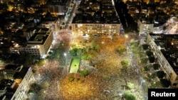 Адзін з папярэдніх пратэстаў у Тэль-Авіве, 11 ліпеня