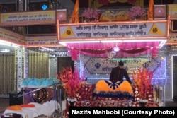 A Hindu shrine in Kabul.
