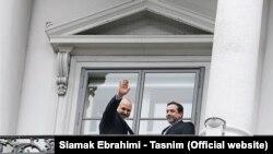 محمد جواد ظریف و عباش عراقچی در وین