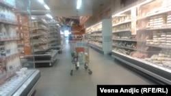 Supermarket u Srbiji, ilustrativna fotografija