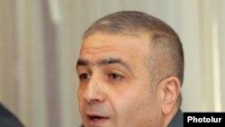 Начальник Управления по борьбе с организованной преступностью Полиции Армении, полковник Унан Погосян, 27 октября 2009 г.