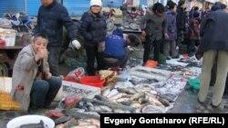 Рыбный рынок в Хэйхэ