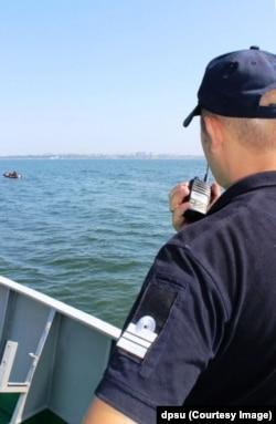 Морські прикордонники несуть службу поблизу Одеси. Фото Регіонального управління Морської охорони ДПСУ