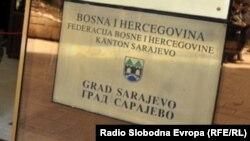Ulaz u upravu Grada Sarajeva i sjedište gradonačelnika