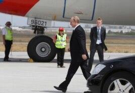 Владимир Путин покидает Австралию. 16 ноября