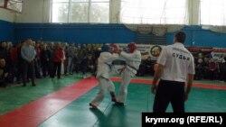 Соревнования по рукопашному бою на приз командования Черноморского флота России