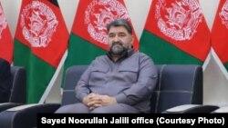 سید نورالله جلیلی نامزد انتخابات ریاست جمهوری افغانستان