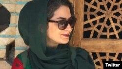 Bahareh Hedayat, prominent Iranian activist. Photo from social media.