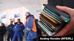The workers had their passports confiscated (file photo).