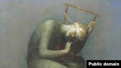 تابلوی امید اثر جورج فردریک ئاتس.