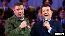 Александр Захарченко и Иосиф Кобзон, архивное фото