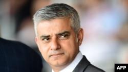 Новый мэр Лондона Садик Хан.