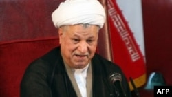 Hashemi-Rafsanjani heads Iran's powerful Assembly of Experts.