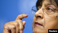 UN High Commissioner for Human Rights Navi Pillay says the violence in Syria has left 5,000 dead.